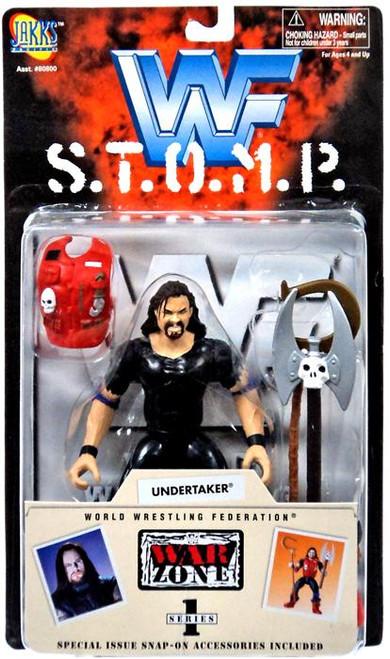 WWE Wrestling WWF S.T.O.M.P. Series 1 Undertaker Action Figure