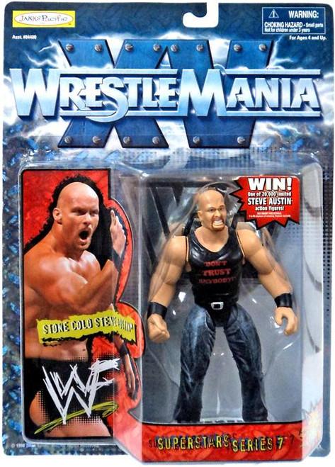 WWE Wrestling WrestleMania XV Superstars Series 7 Stone Cold Steve Austin Action Figure