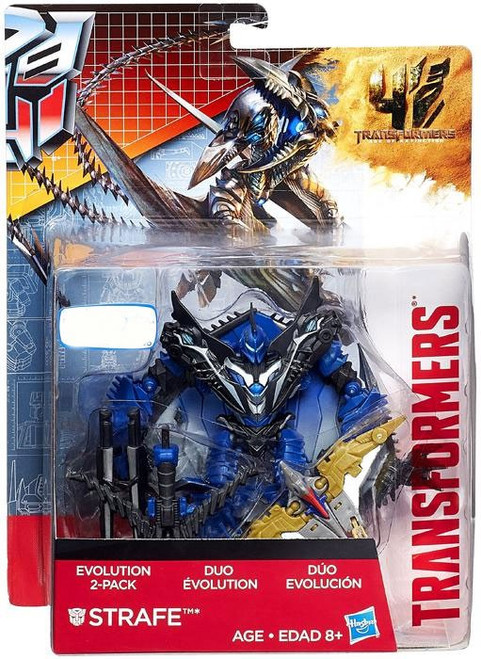 Transformers Age of Extinction Duo Evolution Strafe Exclusive Action Figure 2-Pack