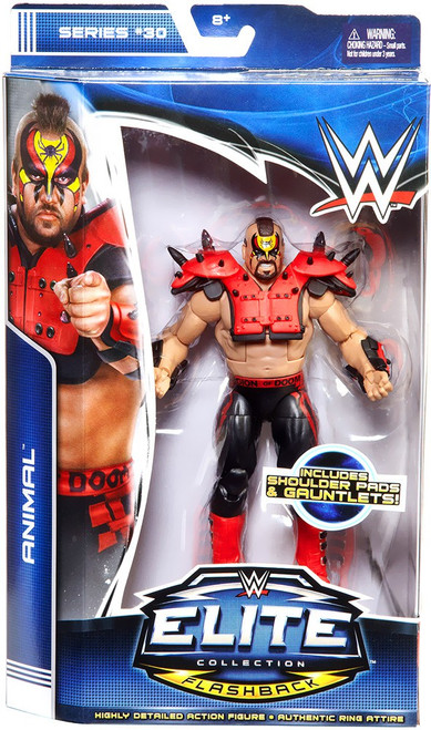 WWE Wrestling Elite Collection Series 30 Animal Action Figure [Road Warriors]
