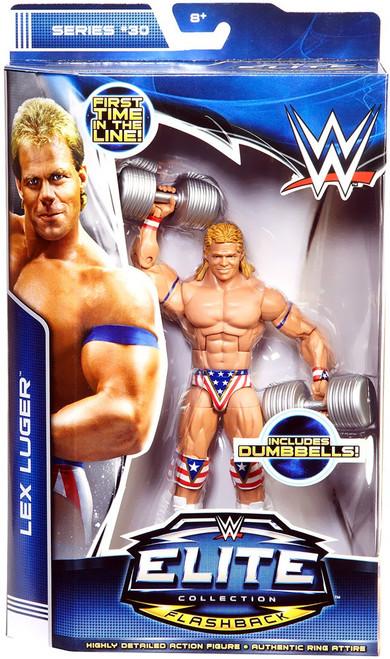 WWE Wrestling Elite Collection Series 30 Lex Luger Action Figure
