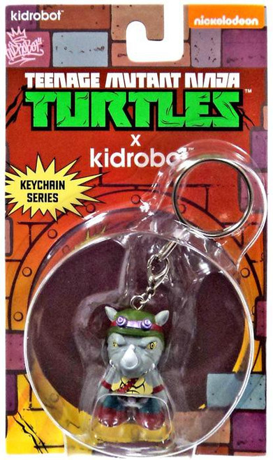 Teenage Mutant Ninja Turtles Nickelodeon Rocksteady 1.5-Inch Keychain