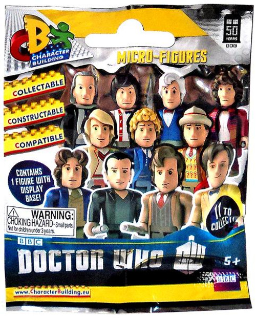 Doctor Who 50th Anniversary Character Building Micro-Figures Mystery Pack