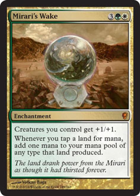 MtG Conspiracy Mythic Rare Mirari's Wake #189