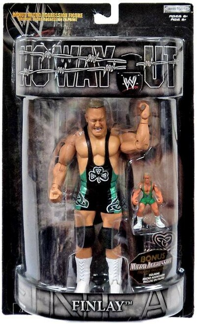 WWE Wrestling Pay Per View Series 15 No Way Out Finlay Action Figure [With Bonus Figure]