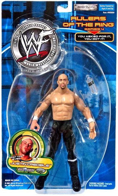 WWE Wrestling Rulers of the Ring Series 4 Justin Credible Action Figure