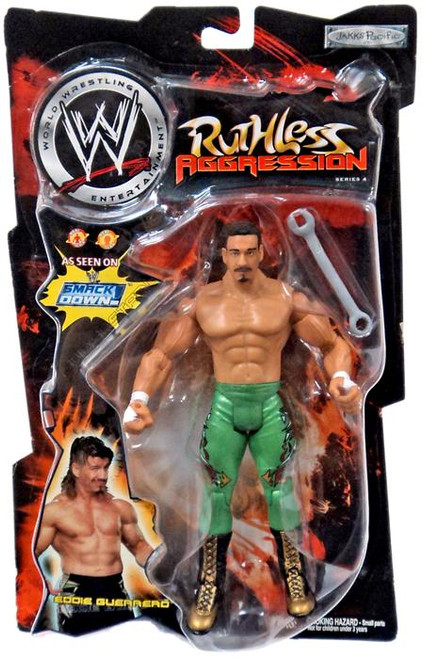 WWE Wrestling Ruthless Aggression Series 4 Eddie Guerrero Action Figure