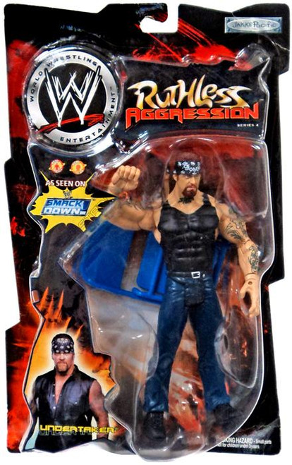 WWE Wrestling Ruthless Aggression Series 4 Undertaker Action Figure