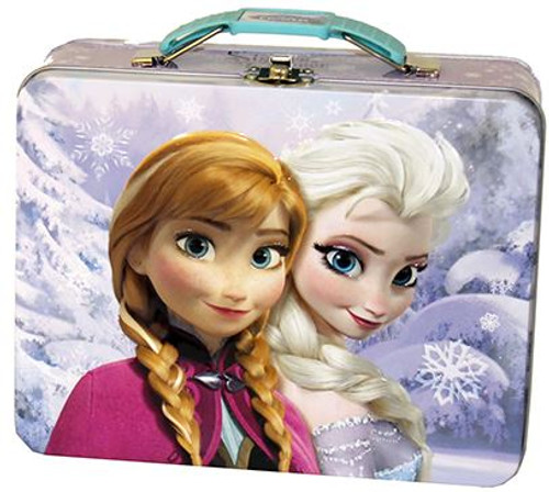Disney Frozen Anna & Elsa Tin [Pink]