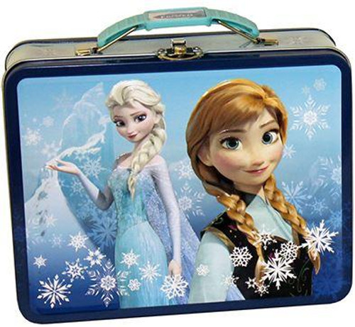 Disney Frozen Anna & Elsa Tin [Blue]