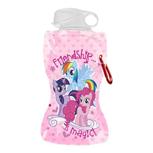 My Little Pony Friendship is Magic 12 Oz. Collapsible Water Bottle