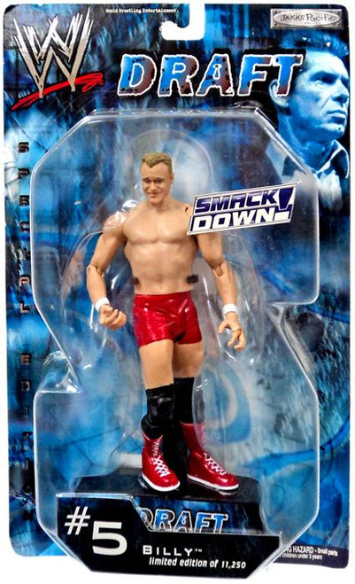 WWE Wrestling RAW Draft Billy Action Figure #5