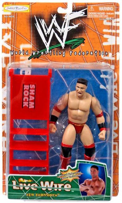 WWE Wrestling WWF Live Wire Ken Shamrock Action Figure