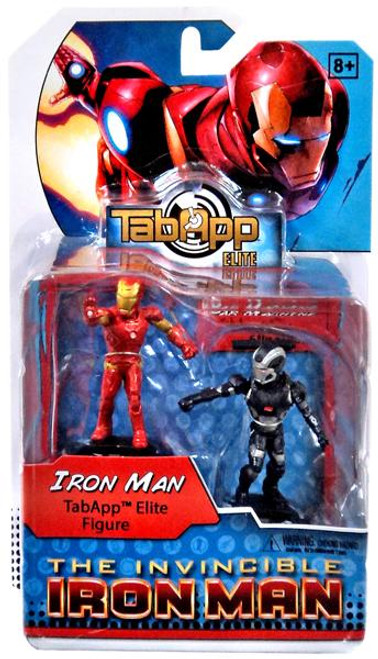 DC HeroClix TabApp Elite Iron Man & War Machine Figure 2-Pack