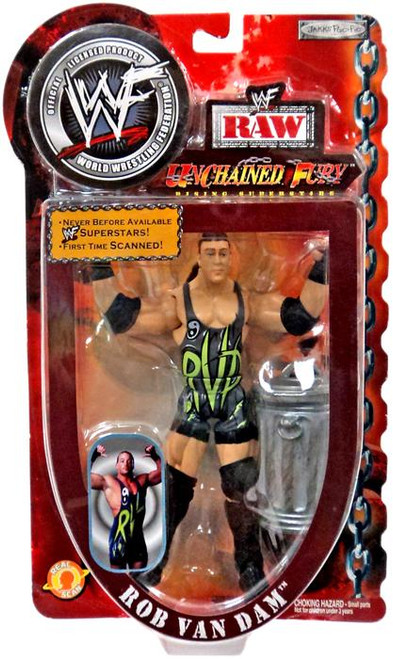 WWE Wrestling WWF Unchained Fury Rising Superstars Rob Van Dam Action Figure