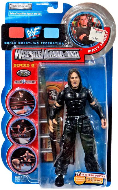 WWE Wrestling Wrestlemania XVII Series 8 Matt Hardy Action Figure