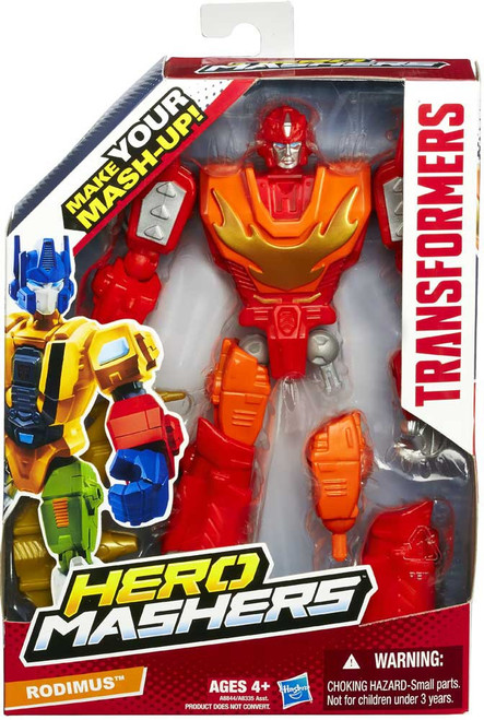 Transformers Hero Mashers Rodimus Action Figure