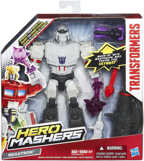 Transformers Hero Mashers Battle Upgrades Megatron Action Figure