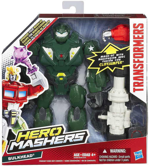 Transformers Hero Mashers Battle Upgrades Bulkhead Action Figure