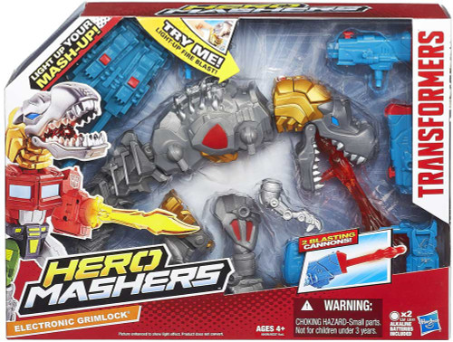 Transformers Hero Mashers Electronic Electric Grimlock Action Figure