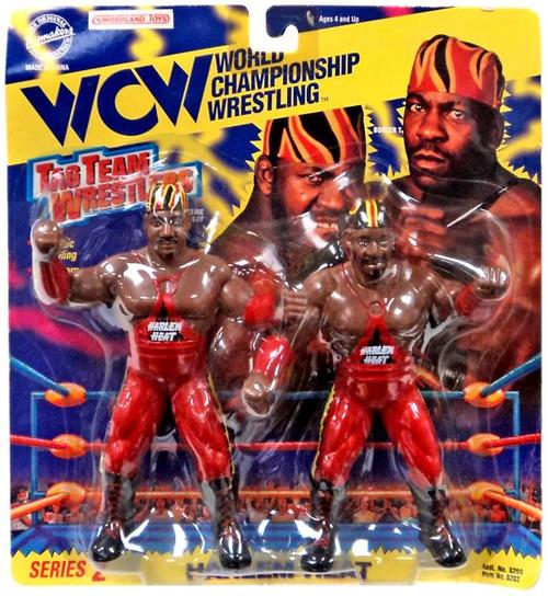 WWE Wrestling WCW Tag Team Wrestlers Harlem Heat Action Figure 2-Pack [Red]