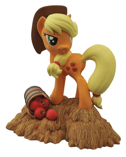 My Little Pony Friendship is Magic Applejack 7-Inch Vinyl Bank Statue