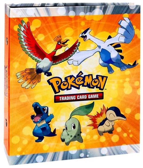 Ultra Pro Pokemon HeartGold & Soulsilver Card Supplies Ho-oh & Lugia 4-Pocket Binder