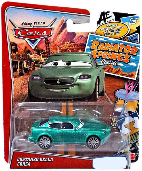 Disney / Pixar Cars Radiator Springs Classic Costanzo Della Corsa Exclusive Diecast Car