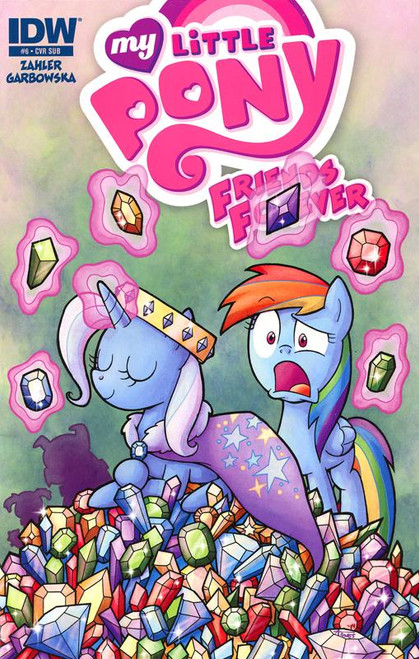 My Little Pony #6 Comic Book [Subscription Cover]