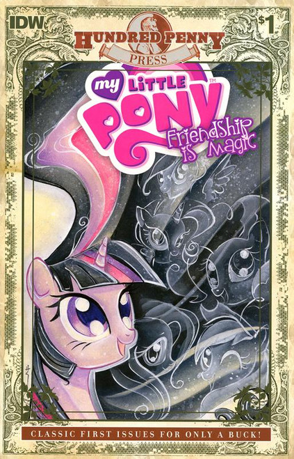 My Little Pony Hundred Penny Press #1 Comic Book [Variant Cover]