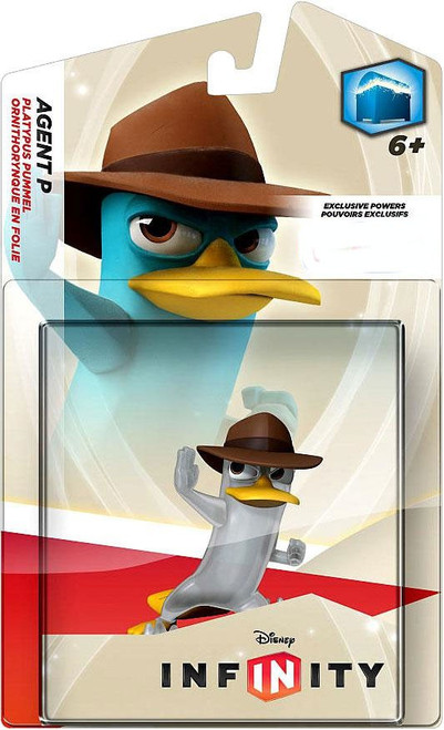 Phineas and Ferb Disney Infinity Agent P Exclusive Game Figure [Crystal]