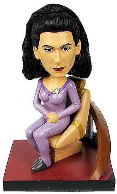 Star Trek: The Next Generation Build a Bridge Deanna Troi 7-Inch Bobble Head