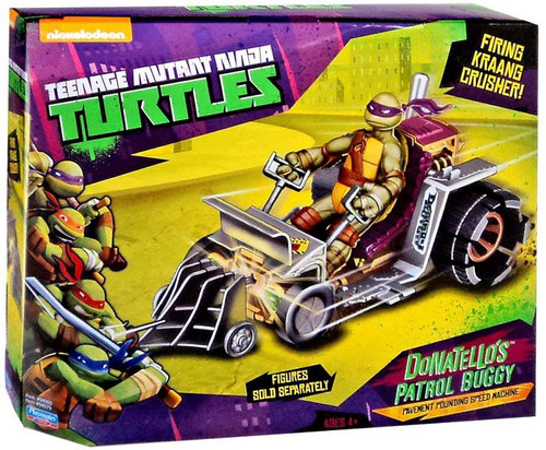Teenage Mutant Ninja Turtles Nickelodeon Donatello's Patrol Buggy Action Figure Vehicle