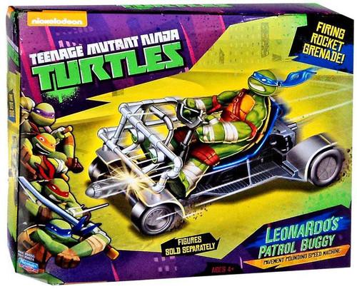 Teenage Mutant Ninja Turtles Nickelodeon Leonardo's Patrol Buggy Action Figure Vehicle