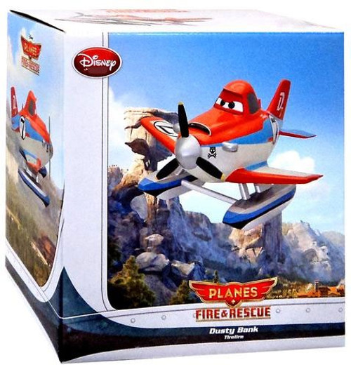 Disney Planes Fire & Rescue Dusty Exclusive Coin Bank
