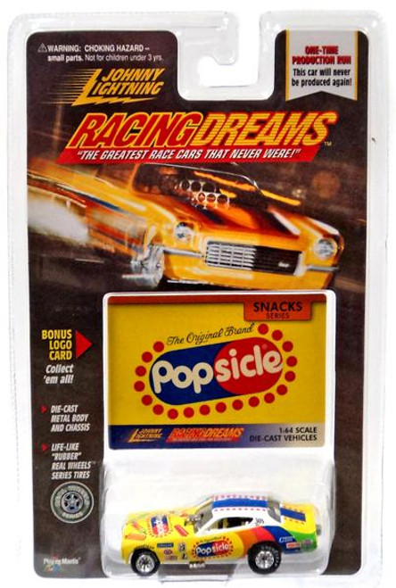Johnny Lightning Racing Dreams Popsicle Diecast Car