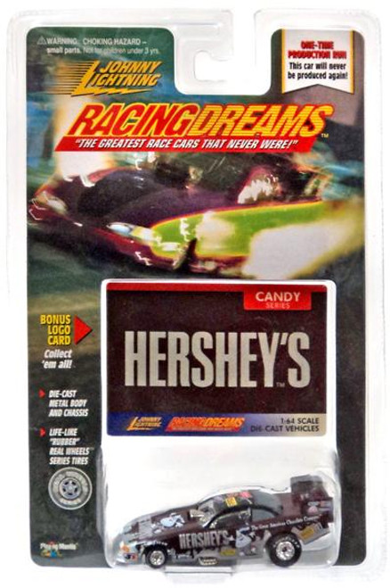 Johnny Lightning Racing Dreams Hershey's Diecast Car