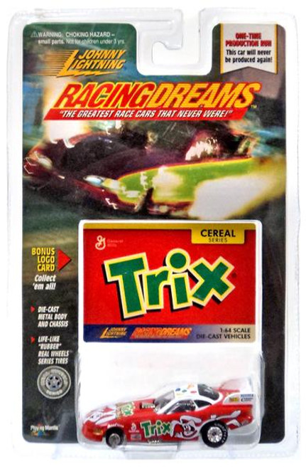 Johnny Lightning Racing Dreams Trix Diecast Car