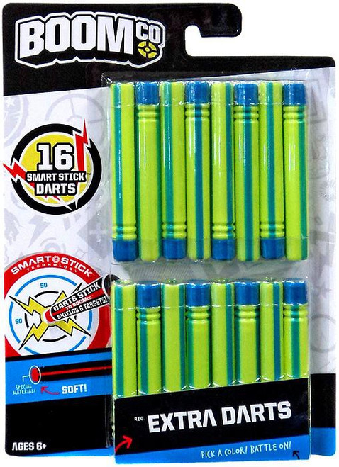 BOOMco Extra Darts Roleplay Toy [Green & Blue Stripe]