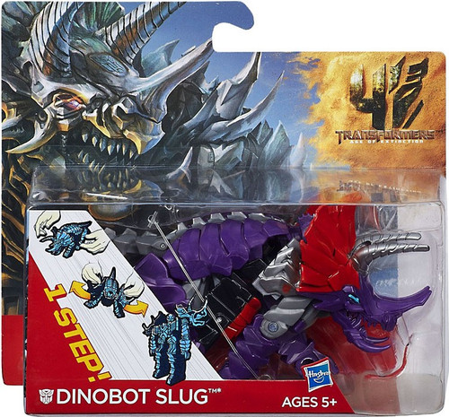 Transformers Age of Extinction 1 Step Changer Dinobot Slug Action Figure