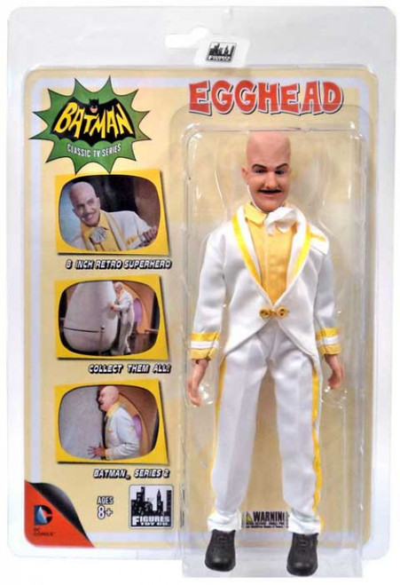 Batman 1966 TV Series Classic TV Series 2 Egghead Action Figure