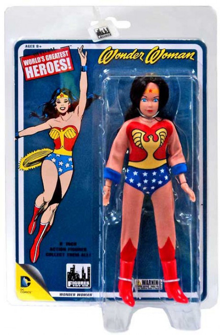 DC World's Greatest Heroes Wonder Woman Action Figure [Full Body Artwork]