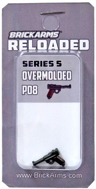 BrickArms Reloaded Series 5 Weapons P08 2.5-Inch [Overmolded]