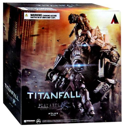 Titanfall Play Arts Kai Atlas & Pilot Action Figure