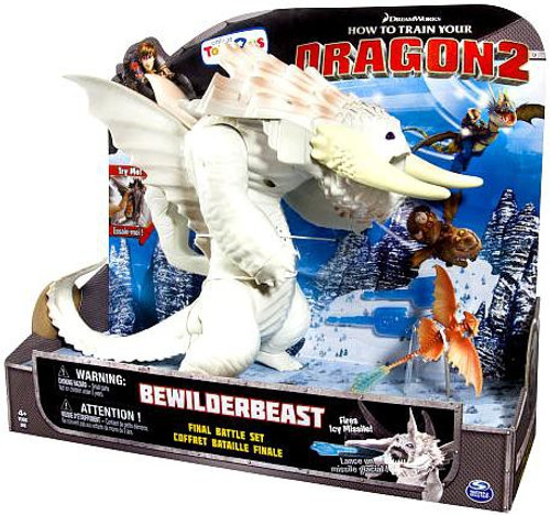 How to Train Your Dragon 2 Bewilderbeast Exclusive Action Figure [White]