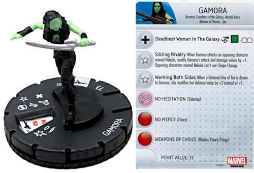 Marvel Guardians of the Galaxy HeroClix Gamora #002