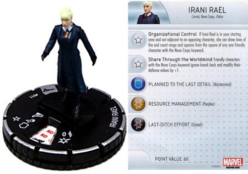 Marvel Guardians of the Galaxy HeroClix Irani Rael #011