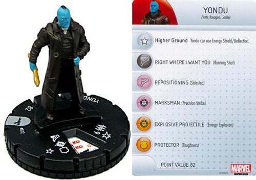Marvel Guardians of the Galaxy HeroClix Yondu #012