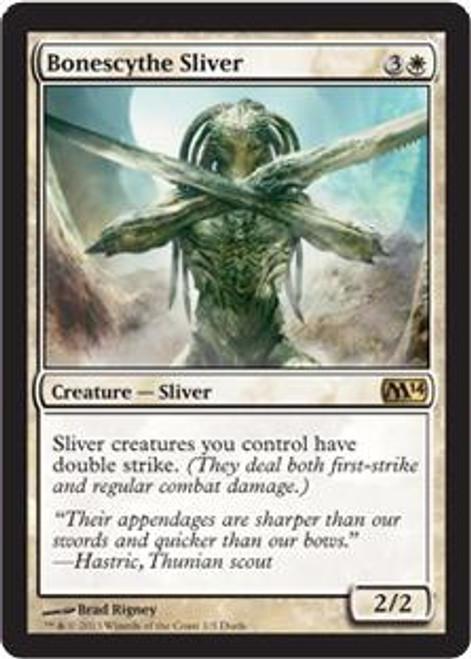 MtG Promo Cards Promo Bonescythe Sliver [Duels of the Planeswalker]
