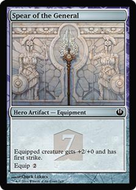 MtG Promo Cards Promo Spear of the General [Hero's Path]